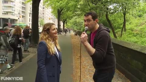 """Billy Plays """"Would Drew Barrymore Like That?"""" with Drew Barrymore! [VIDEO]"""