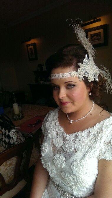 Vintage bride #makeup #bridal #mac