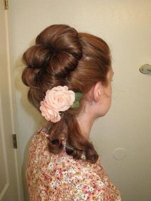Civil War Era ladies hair styles | Of hair-styles and Balls