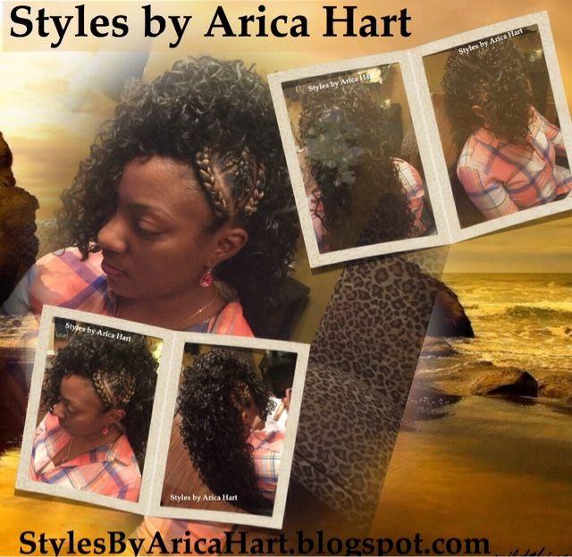 Peachy 17 Best Ideas About Mohawk With Braids On Pinterest Crochet Hair Hairstyles For Women Draintrainus