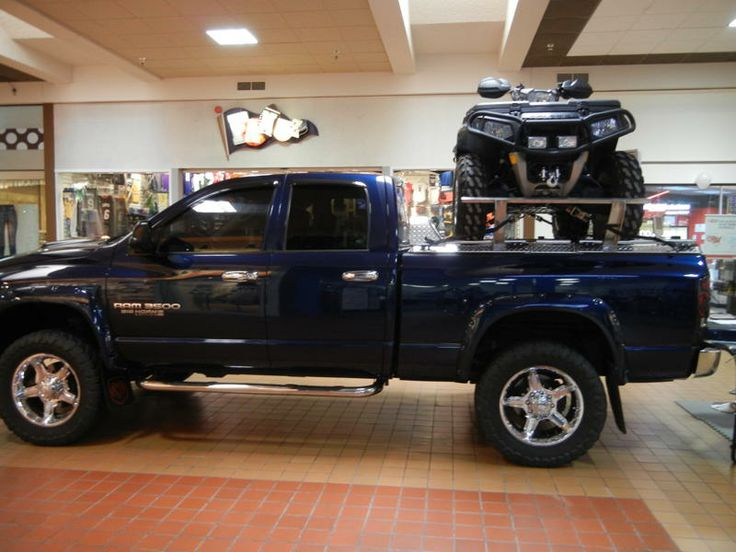 Dodge ram trucks ramp for your quad