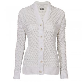 Available at www.my-favourite-thing.com Chunky knit white cardigan £360