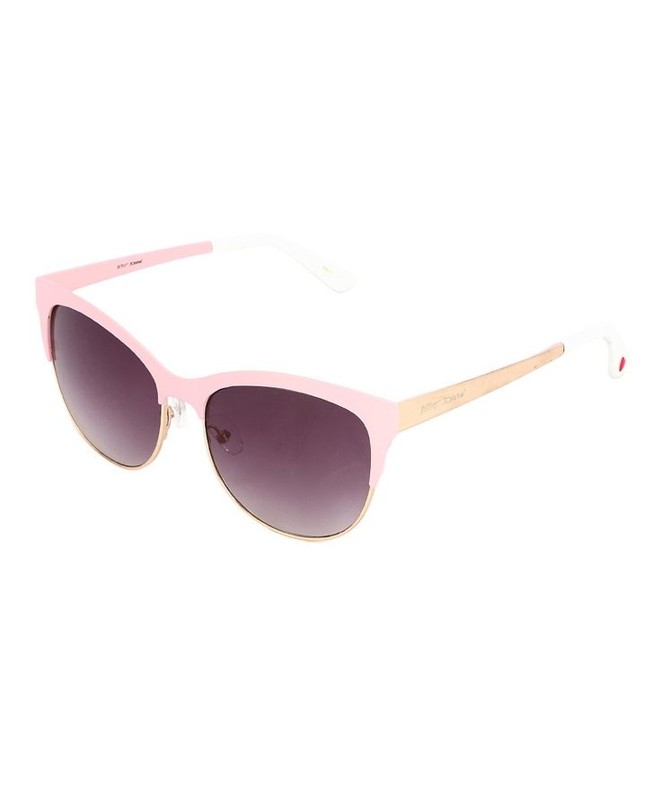 Take a look at this Light Pink Browline Sunglasses today!