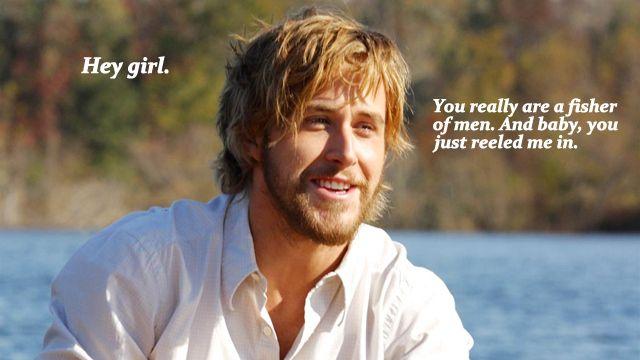 #Christianpickuplines and Ryan Gosling! Does it get better than this?: Christian Pickup Line, Ryan Gosling, Pick Up Line, The Notebooks, Fisher Of Men, Hey Girls, Funny, Christian Girls, Girls Memes
