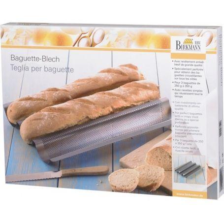 Baguette fém sütőforma