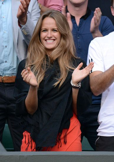 Kim Sears hair - I want my hair to be this length & style eventually. Probably can't rock that color though ;-)