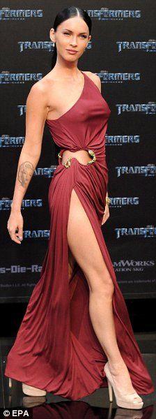 "Megan Fox, ""Transformers"" premiere, 2009."