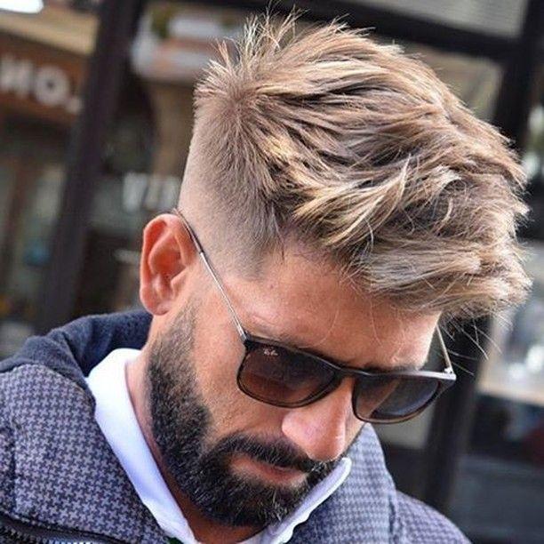 Tutorial taglio capelli ciuffo uomo