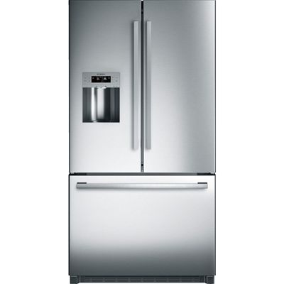 Bosch 800 Series 23.5-cu ft French Door Refrigerator Single Ice Maker (Stainless Steel) ENERGY STAR