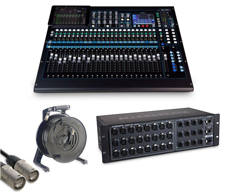 awesome Allen & HEATH CHROME édition QU-24 numérique MIXER ET AUDIO Rack Pack   En savoir plus ici http://musik3l.com/allen-heath-chrome-edition-qu-24-numerique-mixer-et-audio-rack-pack/