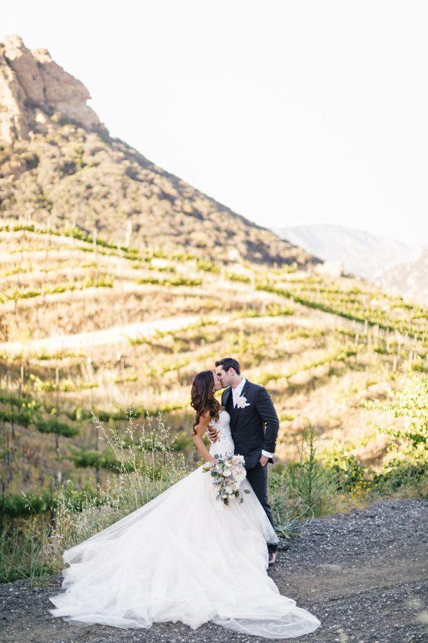Stunning Malibu vineyard wedding: http://www.stylemepretty.com/2015/09/28/romantic-malibu-vineyard-wedding/   Photography: Jana Williams - http://jana-williams.com/