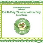 Here is a set of 35 task cards to be used when studying ecology, conservation, or engaging in Earth Day activities.  You may use these in ...