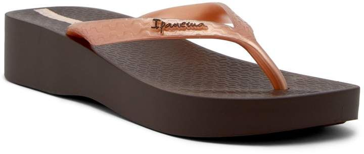 Ipanema Tropical Platform Flip Flop  #ad
