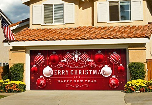 Garage Door Christmas Decorations are a great way to show off your Christmas spirit. There are so many ways to decorate your garage door so be creative and have fun. Let us show you a few of the designs that we have found.
