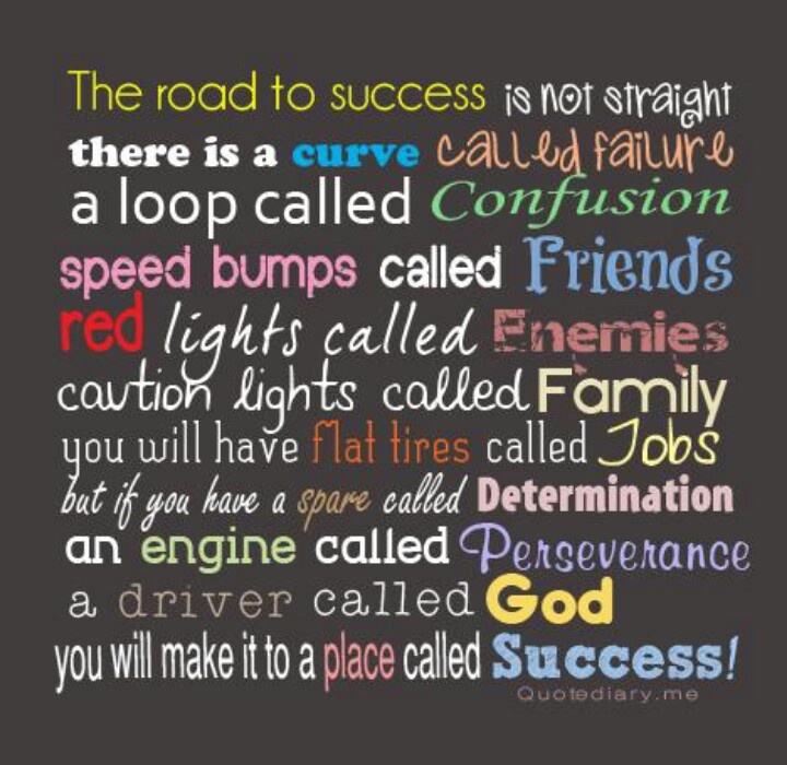 The Road to Success | Quotes | Pinterest