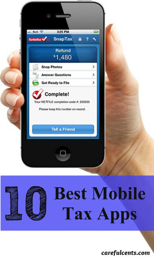 Top 10 best mobile tax apps