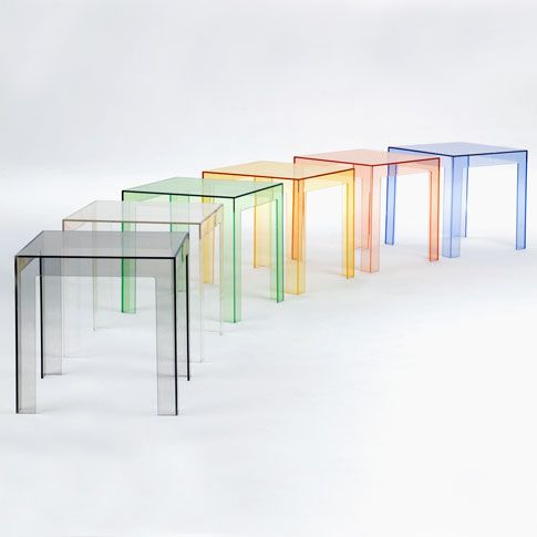 Jolly rainbow by Kartell #modern design coffee tables #coffeetabledesign living room design #modernlivingroom luxury design . See more at www.coffeeandsidetables.com