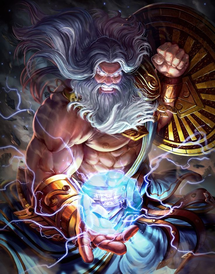 Греческий бог зевс картинки