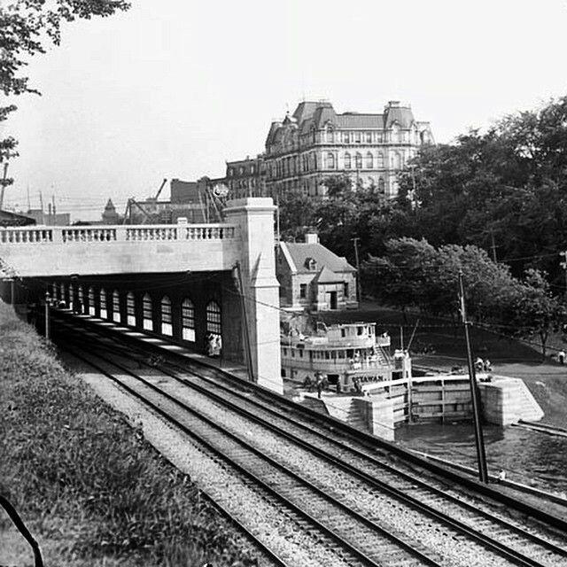 Ottawa, Rideau locks 1912