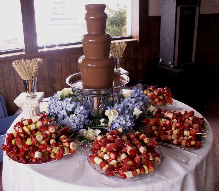 Chocolate Fountain Display Ideas