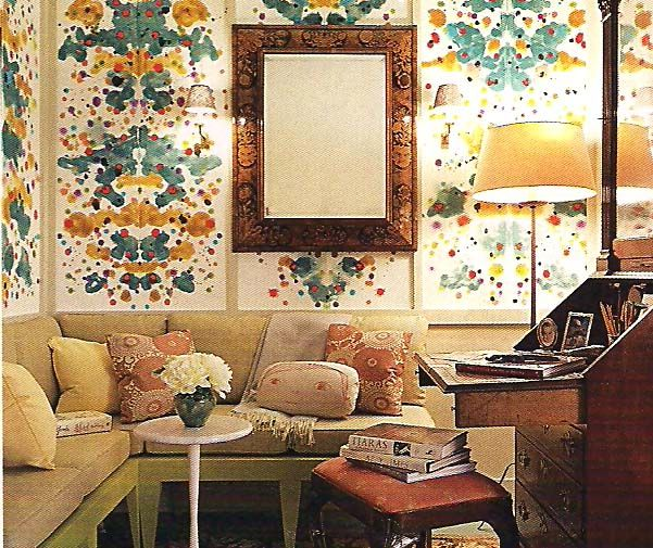 "Albert Hadley says,"" Decorating is not about making stage sets, it's not about making pretty pictures for the magazines; it's really about creating a quality of life, a beauty that nourishes the soul."""