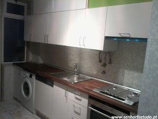 SENHOR FAZ TUDO - Faz tudo pelo seu lar !®: Montagem de uma cozinha Ikea no…