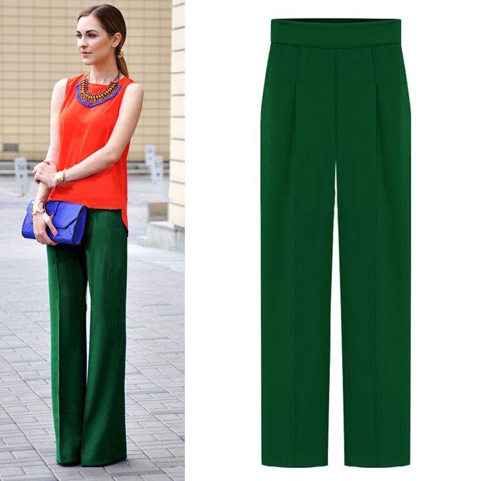 Souvent Oltre 25 fantastiche idee su Pantaloni larghi su Pinterest  VX34