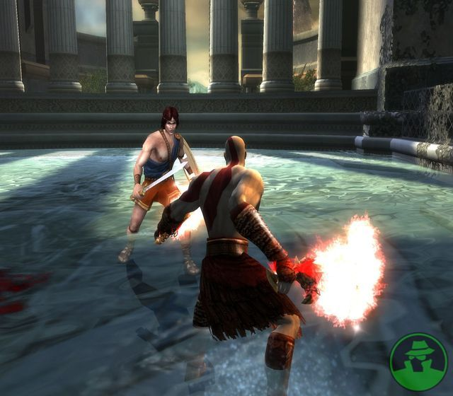 God of War 2 Game Screenshots