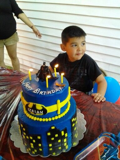 Batman Birthday Cake By Lydia Rodriguez Of Houston Tx