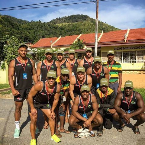 Samurai Sportswearprovide bespoke kit for teams and clubs all around the world. We offer the latest materials giving you a performance advantage, like in Jamaica with the Jamaica Rugby Football Union ,the Jamaica Crocs! #Samuraisportswear #jamaicacrocs
