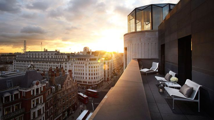 Hotel ME London à Londres | Splendia - http://pinterest.com/splendia/