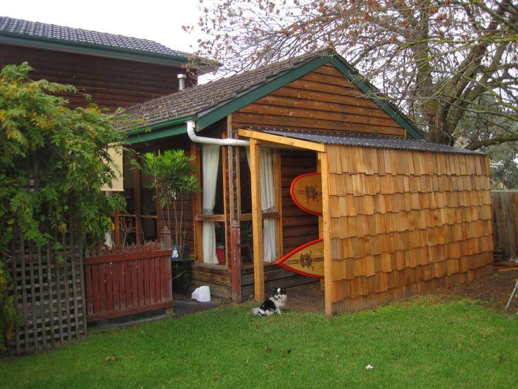 42 best storage ideas images on pinterest organization for Canoe storage shed