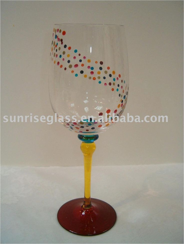 Cool Painted Wine Glasses