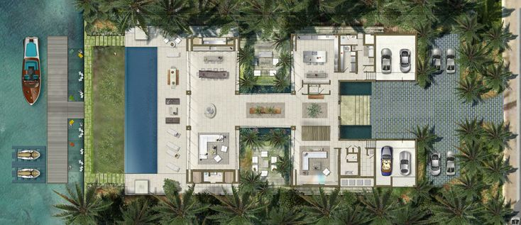 This museum-quality residence was impeccably designed by award-winning architect Chad Oppenheim in the most exclusive and secure private community in Miami Beach, Bal Harbour.