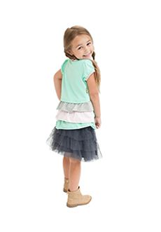 Peekaboo Beans - Twinkle Toes Tutu - Available in two colours - sizes 2 - 7 | www.peekaboobeans.com