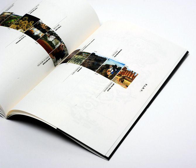 Corporate Brochure designed in college for the class corporate literature. Timeline