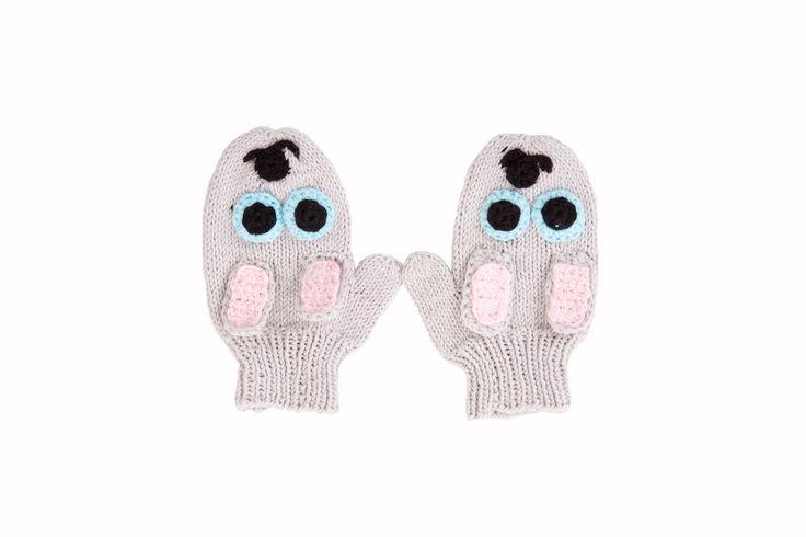 bunny mittens