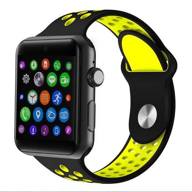 Bluetooth Smart Watch Support SIM Card MTK2502 Sync Notifier SmartWatch For apple iphone Android Phone