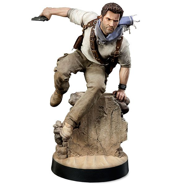 Uncharted Nathan Drake 1/4 Scale Statue