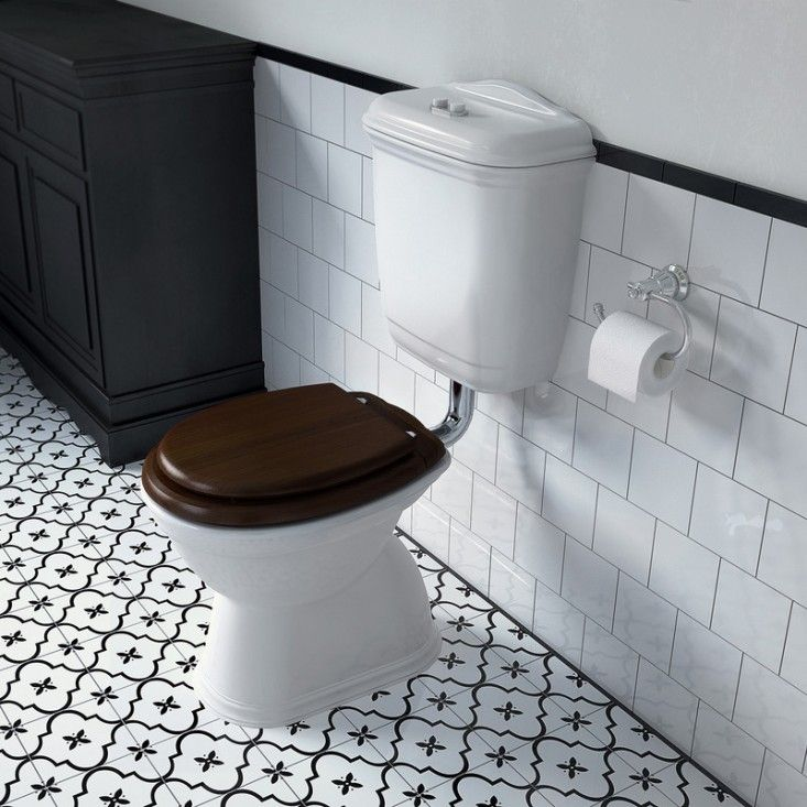 The flush toilet was invented by a poet (and godson of Queen Elizabeth I) in 1597. Though promptly installed at Richmond Palace, it remained unavailable to the general public for another 250 years. Here