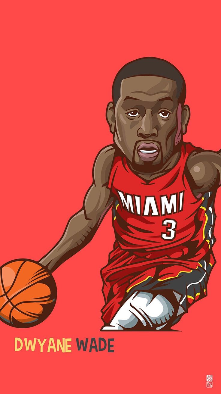 Download Dwyane Wade 1080 x 1920 Wallpapers - 4465696 - nba miamiheat basketball wade | mobile9