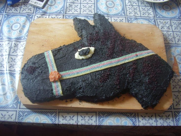 Luca's horse cake