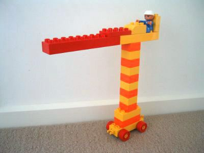 Tons of Lego Duplo building ideas...because I need all the inspiration I can get!!