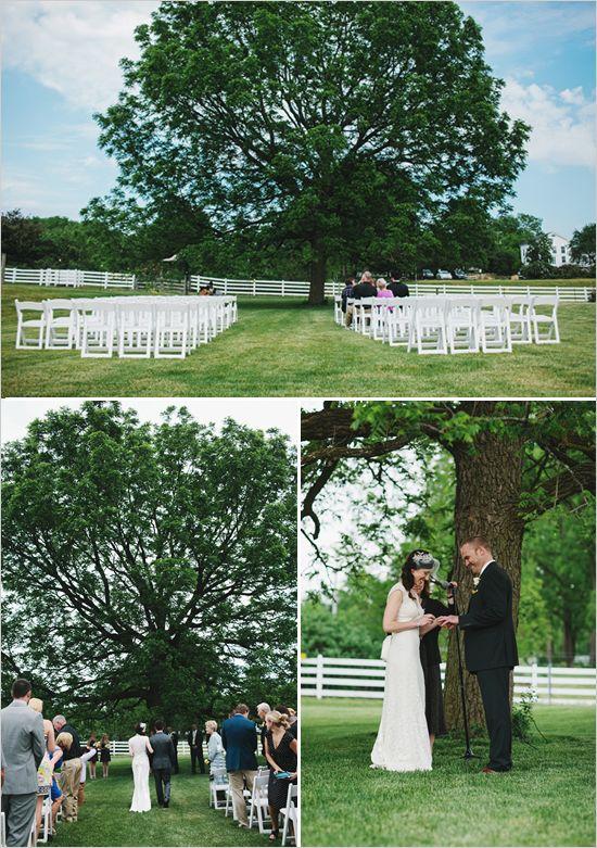 Michigan Rustic Barnyard Wedding Outdoor Venuesoutdoor Ceremonywedding