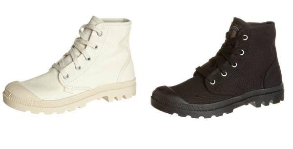 Palladium Pampa Botines Con Cordones Black botas y botines Pampa Palladium Con Cordones Botines black Noe.Moda