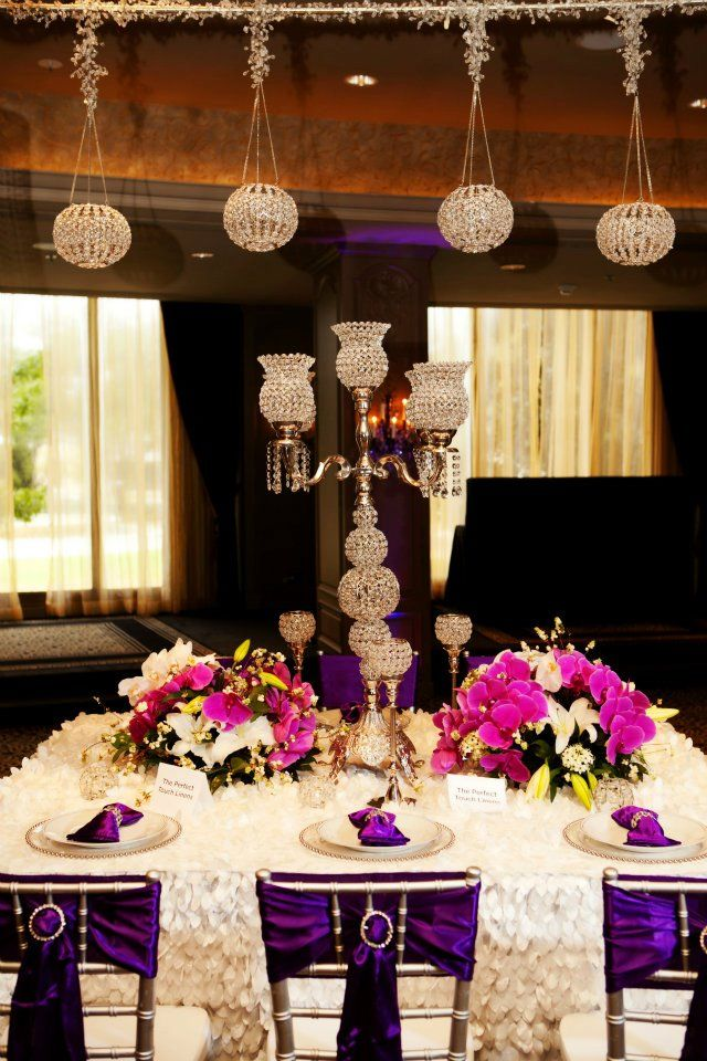 regency purple wedding decorations 1000 images about chair decor on receptions 7055
