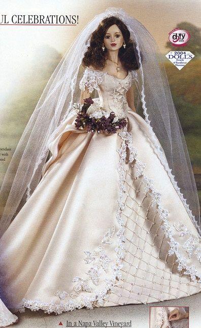 cindy mcclure bride dolls | Dolls - Bride / In a Napa Valley Vineyard, Bride, 2004, by Cindy ...