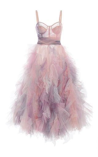 How to Spend Your Tax Dollars! Marchesa Gown with Corset Bodice and Tulle Skirt*