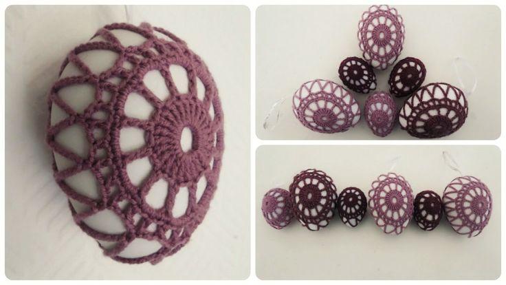 Osterei umhäkeln * DIY * Crochet Ester Egg [eng sub]