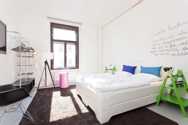 Fusion prague hotel: Stapelliege comfort di Mueller Moebel.